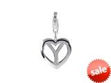 SilveRado™ VR044 Verado Sterling Silver Letter Y Pandora Compatible Bead / Charm with Lobster Clasp style: VR044