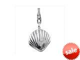 SilveRado™ VR053 Verado Sterling Silver Sea Shell Bead / Charm style: VR053