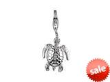 SilveRado™ VR066 Verado Sterling Silver Turtle Bead / Charm style: VR066
