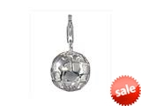 SilveRado™ VR082 Verado Sterling Silver Here on Earth Bead / Charm with Lobster Clasp