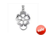 SilveRado™ VR104 Verado Sterling Silver Baby Bloom Carrier Bead / Charm