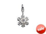 SilveRado™ VR133 Verado Sterling Silver Moon Romance Bead / Charm style: VR133