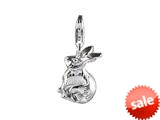 SilveRado™ VR143 Verado Sterling Silver Bunny Me Bead / Charm style: VR143