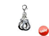 SilveRado™ VR166 Verado Sterling Silver Lock Me Up Bead / Charm style: VR166
