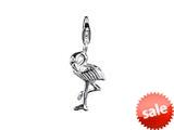 SilveRado™ VR173 Verado Sterling Silver Flamingo Click-on Bead / Charm style: VR173