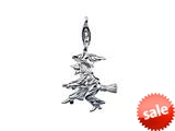 SilveRado™ VR187 Verado Sterling Silver Be Witched Pandora Compatible Bead / Charm with Lobster Clasp
