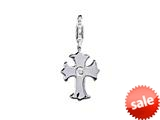 SilveRado™ VR215 Verado Sterling Silver Faith Click-on Bead / Charm style: VR215
