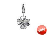 SilveRado™ VR250 Verado Sterling Silver Lucky Clover Click-On Bead / Charm style: VR250