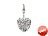 SilveRado™ VRB303-1 Verado Bling My Heart White Bead / Charm style: VRB303-1