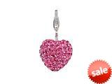 SilveRado™ VRB303-2 Verado Bling My Heart Pink Bead / Charm style: VRB303-2