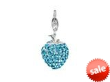 SilveRado™ VRB305-3 Verado Bling Flashy Strawberry Blue Bead / Charm style: VRB305-3