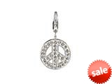 SilveRado™ VRB310-1 Verado Bling World Peace White Bead / Charm