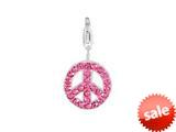 SilveRado™ VRB310-2 Verado Bling World Peace Pink Bead / Charm style: VRB310-2