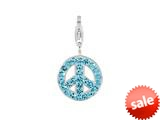 SilveRado™ VRB310-3 Verado Bling World Peace Blue Bead / Charm style: VRB310-3