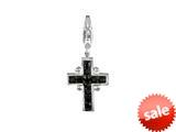 SilveRado™ VRB311-0 Verado Bling Holy Spirit Black Bead / Charm style: VRB311-0
