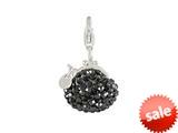 SilveRado™ VRB324-0 Verado Bling Bling Me Bag Black Bead / Charm style: VRB324-0