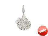 SilveRado™ VRB324-1 Verado Bling Bling Me Bag White Bead / Charm style: VRB324-1