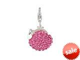 SilveRado™ VRB324-2 Verado Bling Bling Me Bag Pink Bead / Charm style: VRB324-2