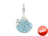 SilveRado™ VRB324-3 Verado Bling Bling Me Bag Blue Bead / Charm style: VRB324-3