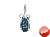 SilveRado™ VRG155-9 Verado Murano Glass Out of the Blue Bead / Charm style: VRG155-9