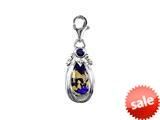SilveRado™ VRG156-3 Verado Murano Glass Jasper Bead / Charm style: VRG156-3