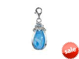 SilveRado™ VRG156-5 Verado Murano Glass Summer Seduction Bead / Charm style: VRG156-5