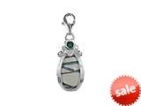SilveRado™ VRG156-6 Verado Murano Glass Sherbet Island Bead / Charm style: VRG156-6