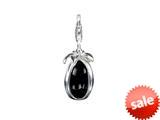 SilveRado™ VRG158-1 Verado Murano Glass Mysterious Black Bead / Charm style: VRG158-1