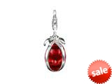 SilveRado™ VRG158-4 Verado Murano Glass Irresistible Red Click-On Bead / Charm style: VRG158-4