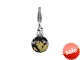 SilveRado™ VRG212-4 Verado Murano Glass Glam Night Out Bead / Charm style: VRG212-4
