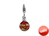 SilveRado™ VRG212-6 Verado Murano Glass Lit From Within Bead / Charm style: VRG212-6