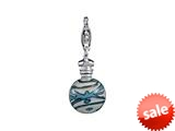 SilveRado™ VRG238-1 Verado Murano Glass Dancing in the Surf Bead / Charm