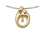 Original Mother and Child Heartbeat Pendant by Janel Russell Style number: M292Y41M