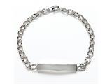 Sterling Silver Children ID Bracelet style: 503319