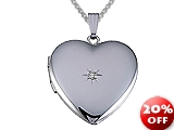 Large Heart Locket Pendant style: 501019