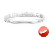 Sterling Silver Childrens 1.75 Inch Slip On Bracelet
