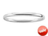 Sterling Silver Childrens 2.25 Inch Slip On Bracelet style: 503404