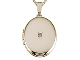 Medium Oval Locket Pendant style: 50971