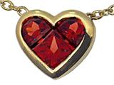 Tommaso Design Genuine Garnet Pendant