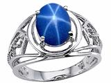 Tommaso Design™ Created Star Sapphire Ring style: 24550