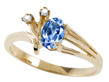 Tommaso Design™ Genuine Tanzanite and Diamond Ring style: 301736