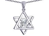 Tommaso Design™ Genuine Jewish Star of David Pendant by Devorah. style: 305048