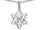 Tommaso Design™ Genuine Jewish Star of David Pendant by Devorah. style: 305049