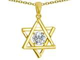 Tommaso Design™ Genuine Jewish Star of David Pendant by Devorah. style: 305052