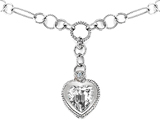 Original Star K™ Heart Shape Cubic Zirconia Pendant