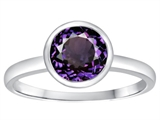 Tommaso Design™ 7mm Round Simulated Alexandrite Engagement Solitaire Ring style: 307916