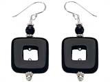 Noah Philippe™ Simulated Onyx Earring Drops
