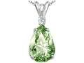 Tommaso Design™ Green Amethyst Pendant