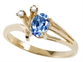 Tommaso Design™ Genuine Tanzanite Ring