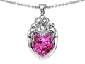 Created Pink Sapphire